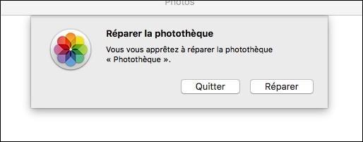 réparer photos