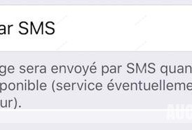 sms message iPhone