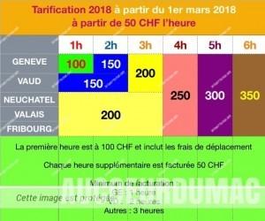 tarifs assistance apple 2018