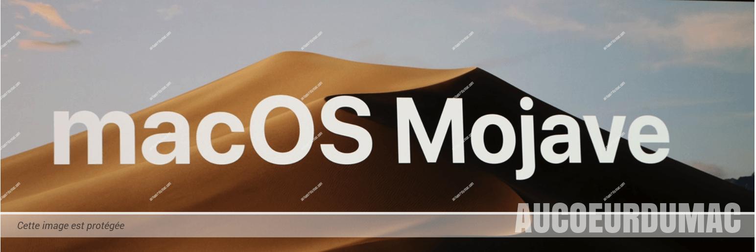 Mojave c'est pour qui