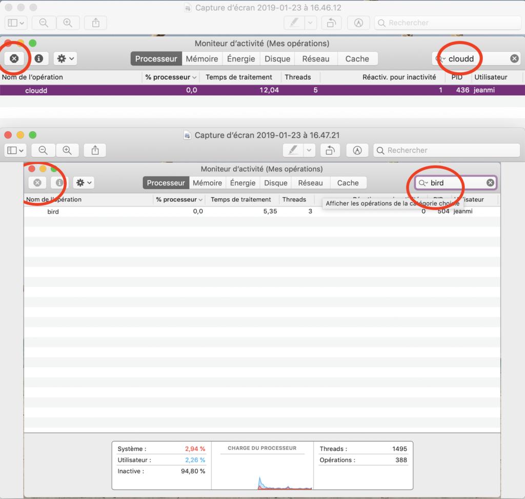 synchronisation iCloud trop lente