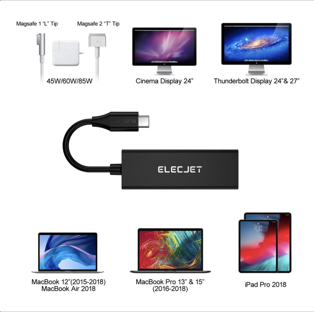 Adaptateur MagSafe USB-C