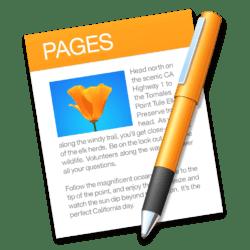 remplacer Word par Pages
