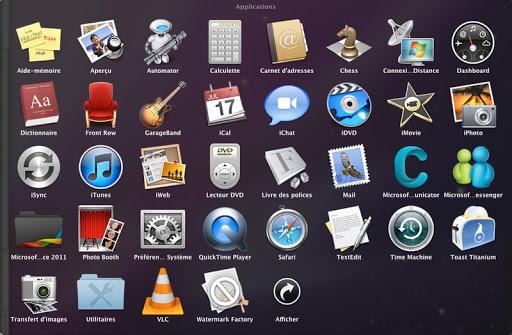 achats logiciels Mac